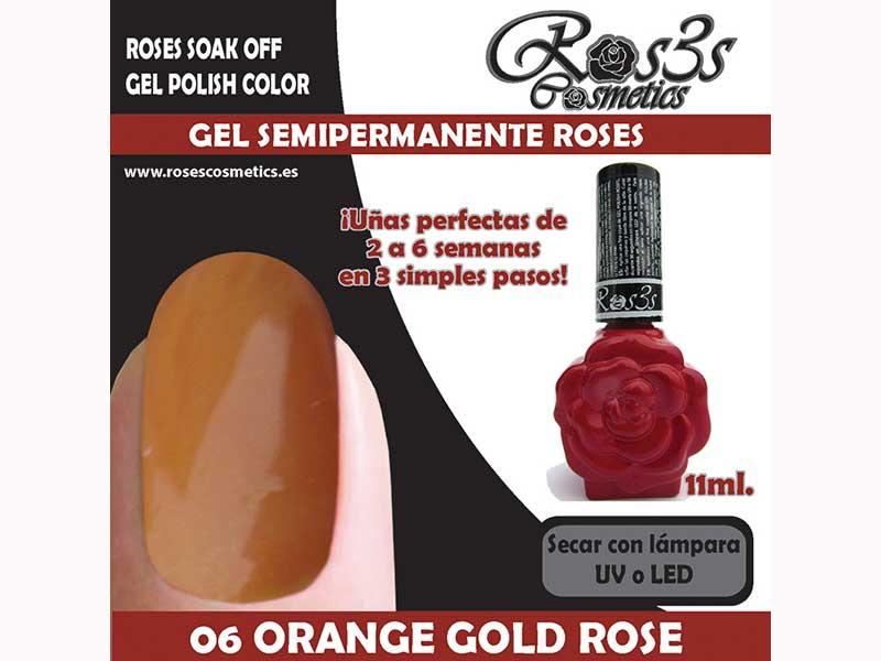 06-Orange Gold Rose 11 ml