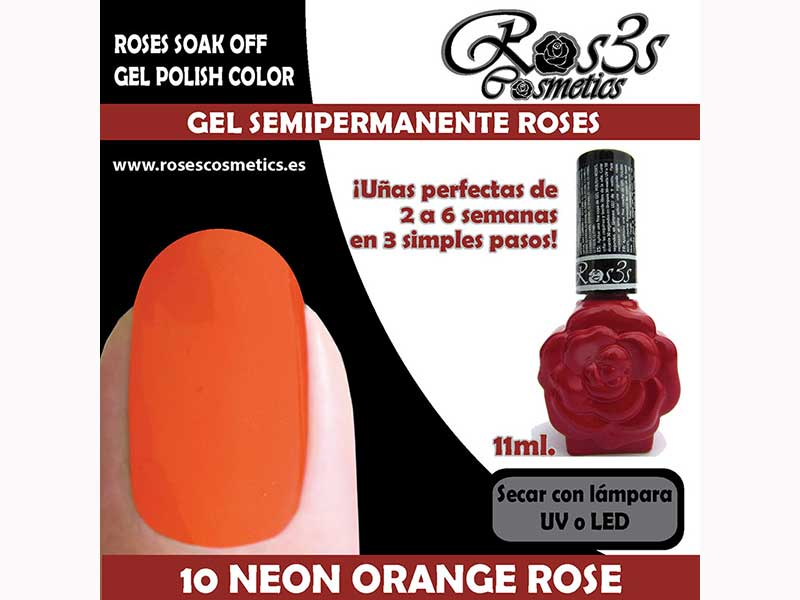 10-Neon Orange Rose 11 ml