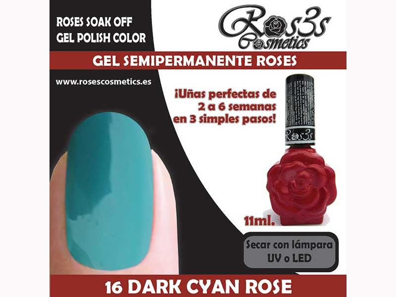 16-Dark Cyan Rose 11 ml