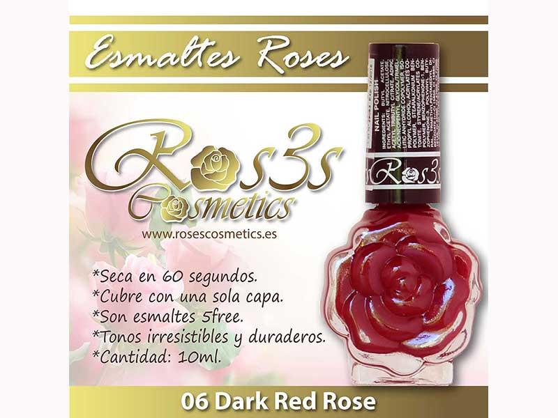 Esmalte Roses: 06 DARK RED ROSE
