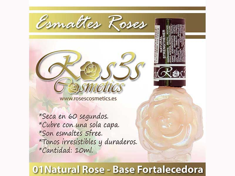 Endurecedor de uñas Ros3s Cosmetics