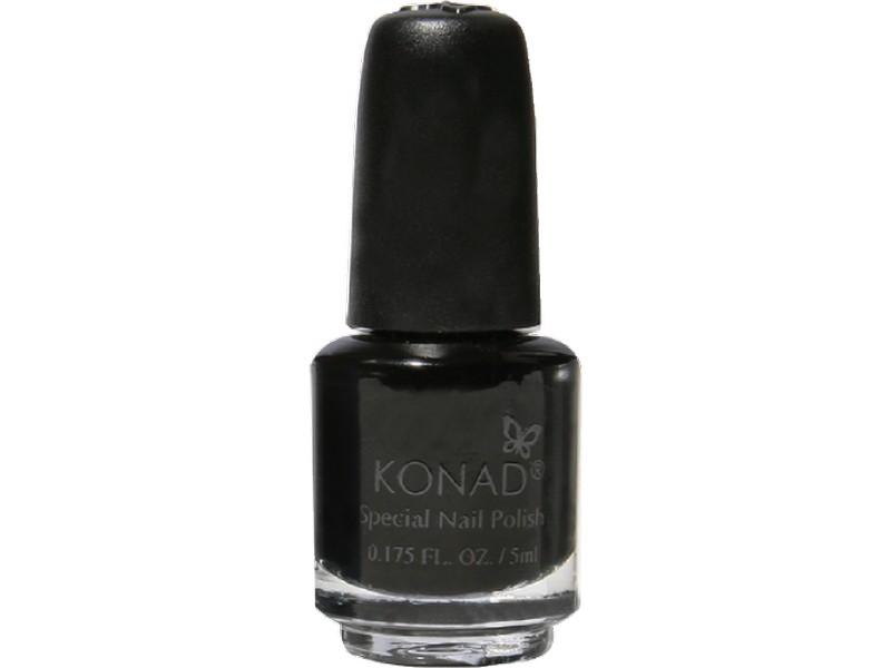 Esmalte especial pequeño Konad (5ml) P25 BLACK