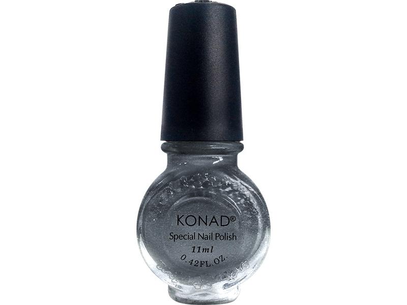 Esmalte especial grande Konad (11ml). G58 GRAY