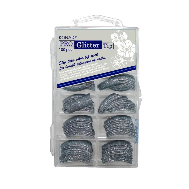 Pro Glitter 100 tip -Blue Gray