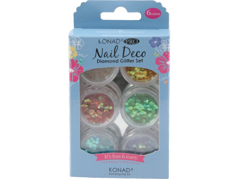 Pro Nail Deco Diamond Glitter Set