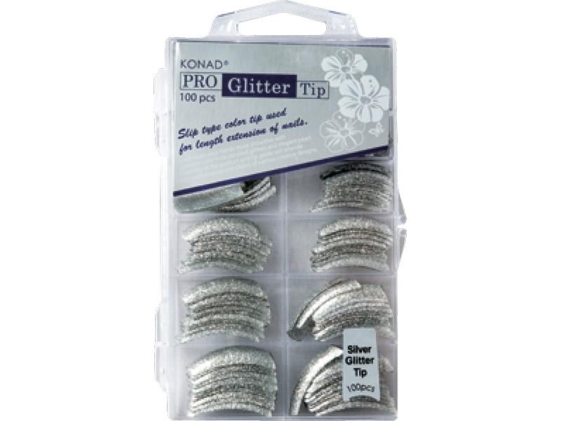 Pro Glitter 100 tip - Silver