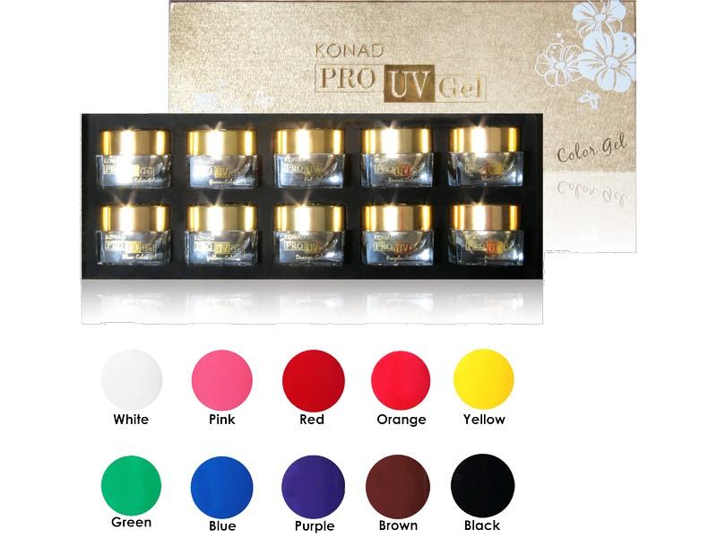Konad Pro UV Color Gel Set I