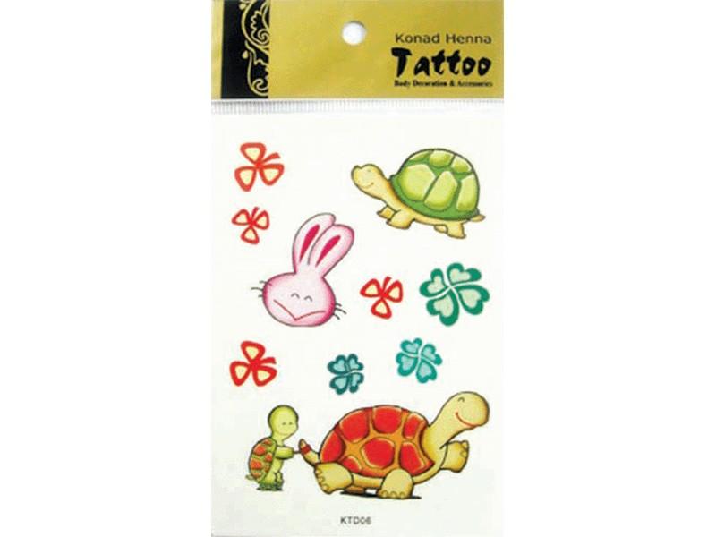 Tatuaje Henna-KTD06
