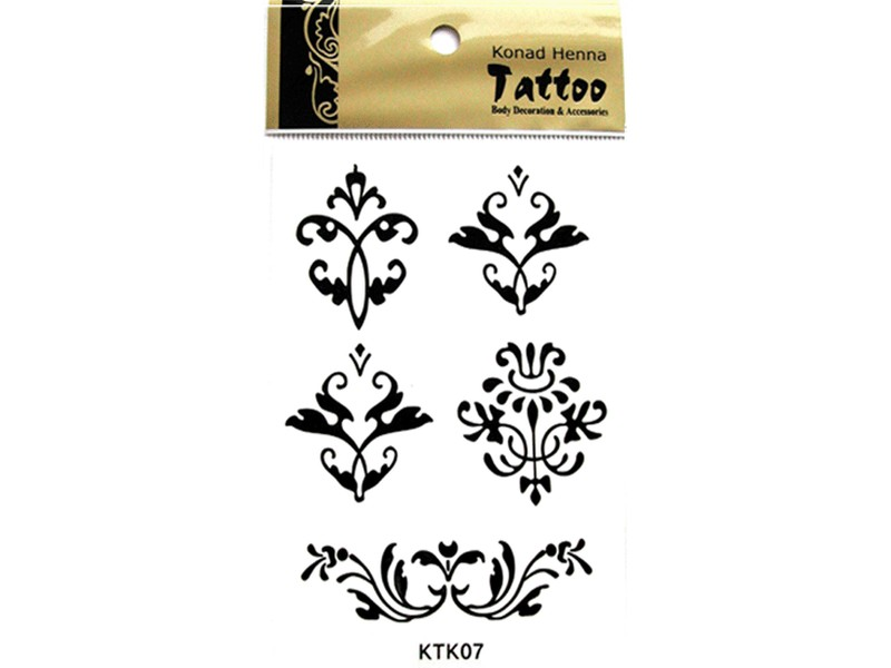 Tatuaje Henna-KTK07