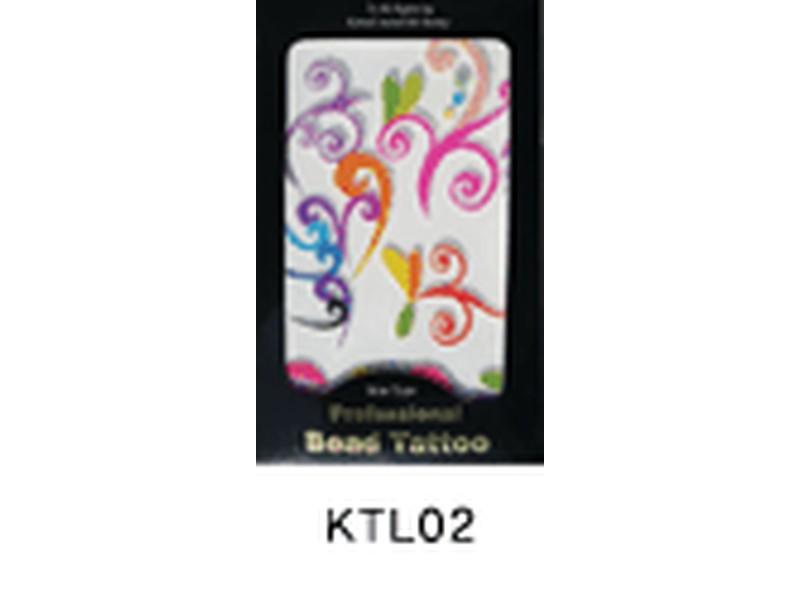 Tatuaje relieve profesional-KTL02