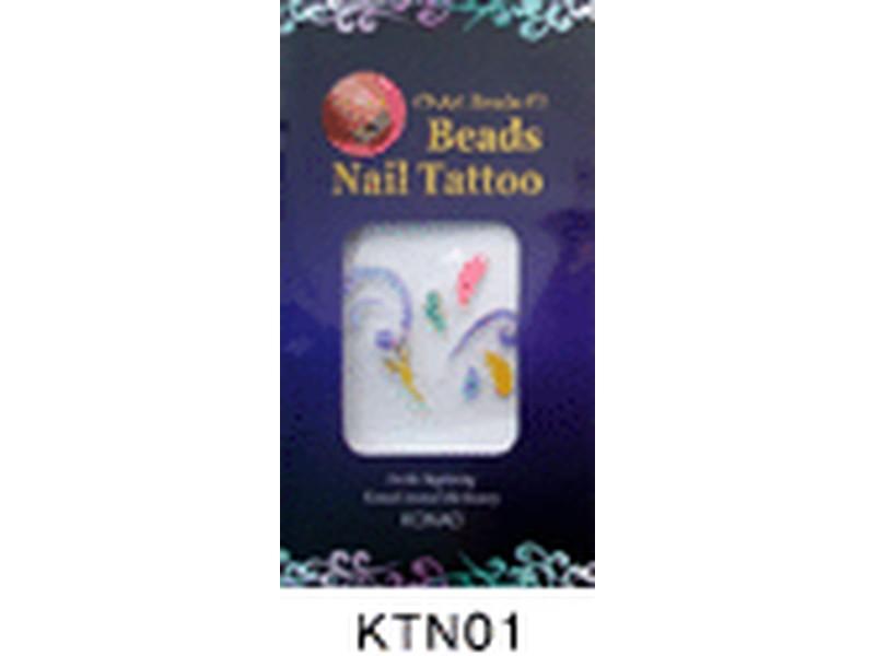 Tatuaje relieve uñas-KTN01
