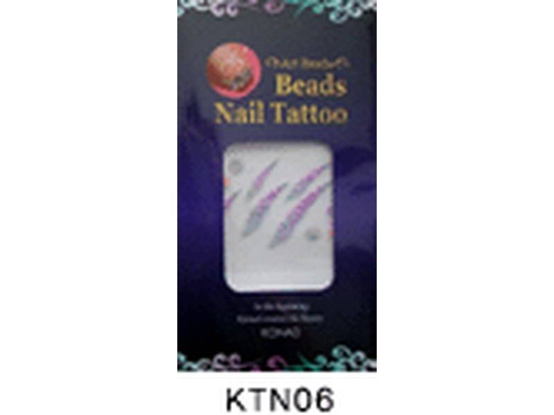 Tatuaje relieve uñas-KTN06
