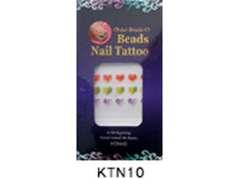 Tatuaje relieve uñas-KTN10