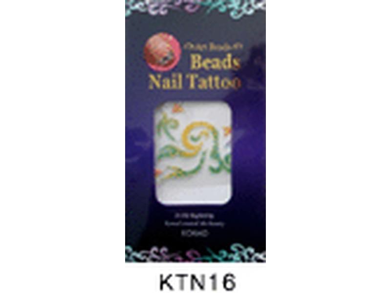 Tatuaje relieve uñas-KTN16
